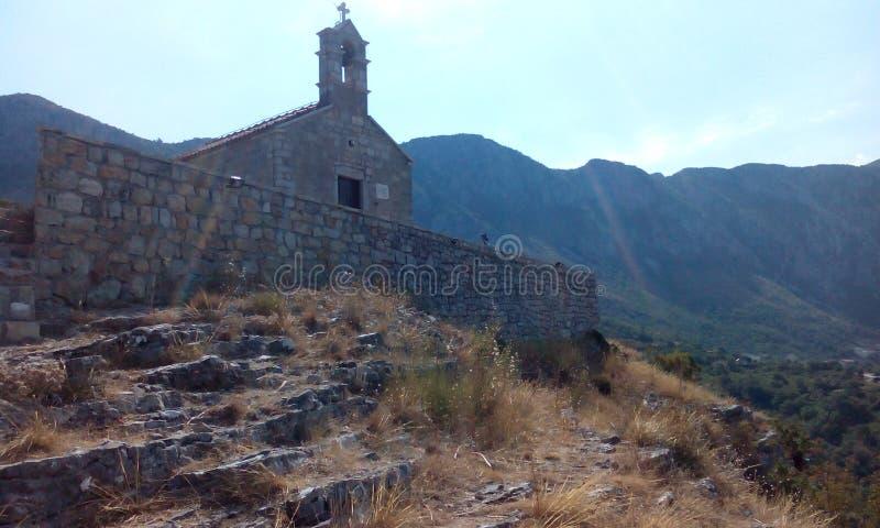 Церковь Черногория стоковая фотография