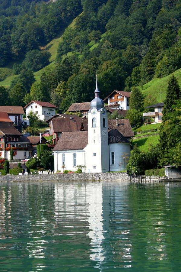 церковь Швейцария стоковое фото rf