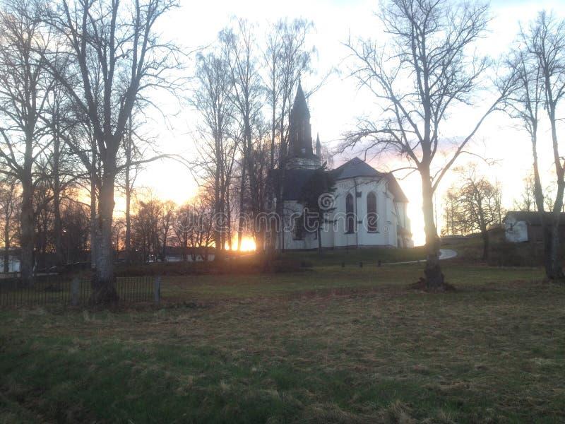 церковь Швеция стоковое фото