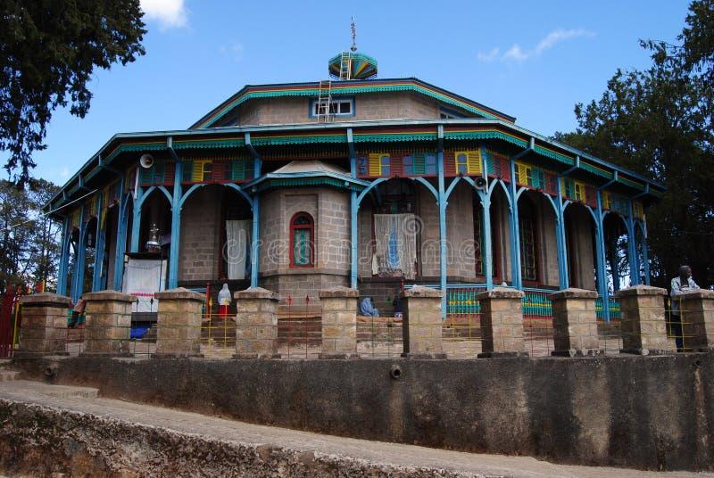 церковь эфиопия стоковое изображение