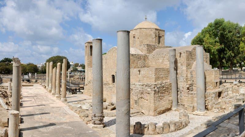 Церковь Agia Kyriaki, Paphos, Кипр стоковая фотография rf
