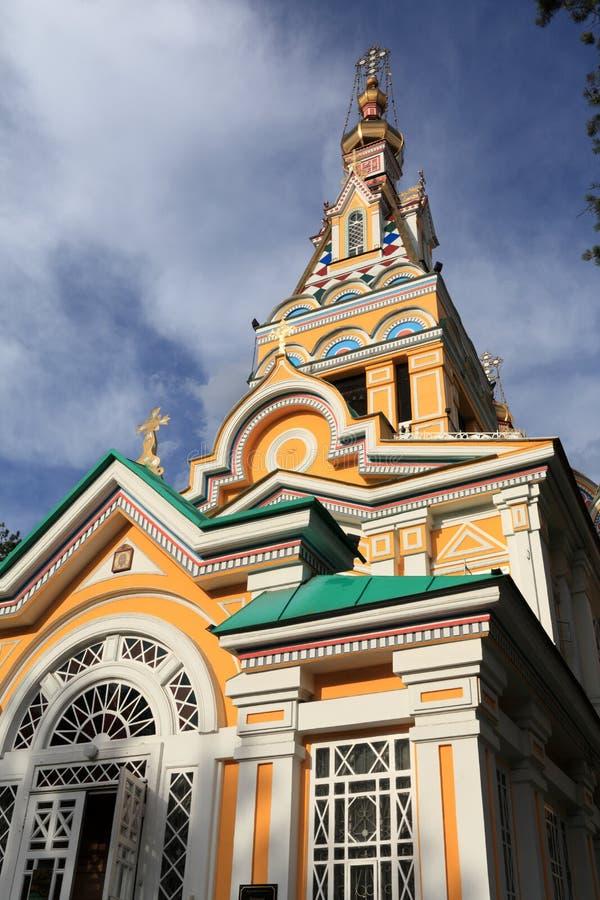 церковь almaty стоковая фотография