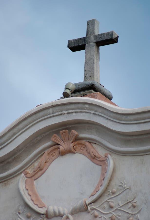Церковь Alta Gracia иезуитов стоковое изображение rf