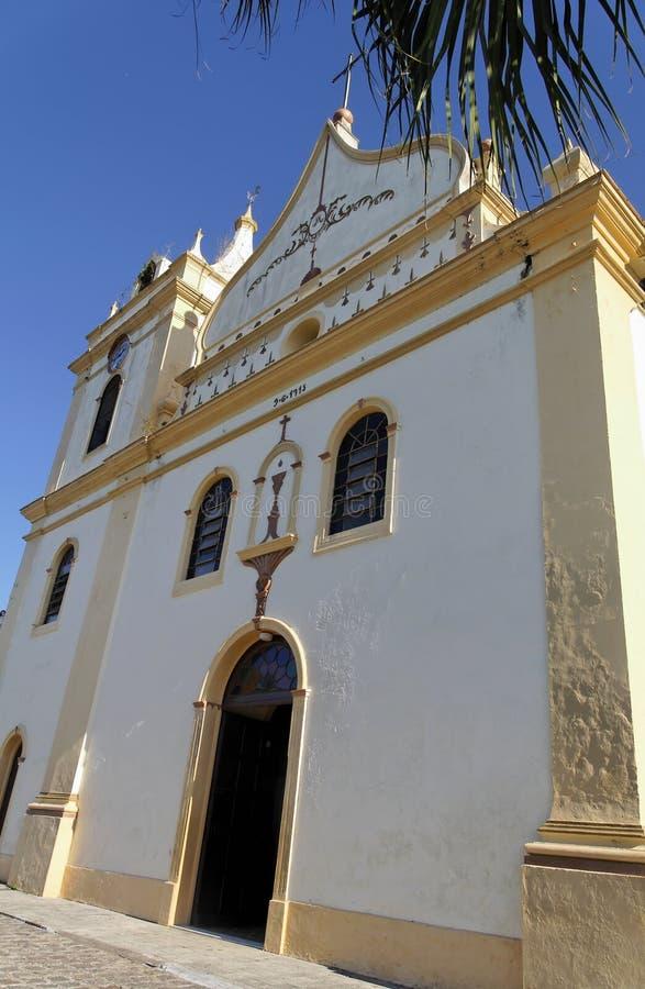 церковь antonina делает senhora nossa pilar стоковое изображение