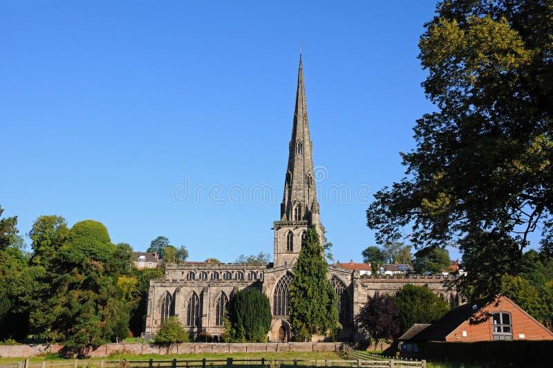Церковь Ashbourne стоковые фото