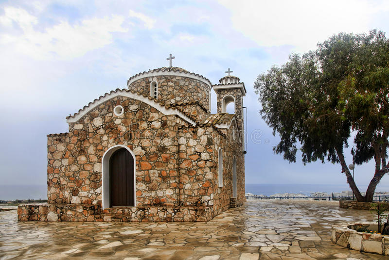 Церковь Ayios Ilias стоковые фотографии rf
