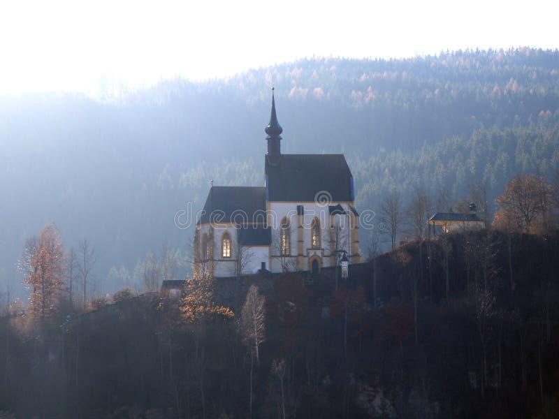 церковь backlight красивейшая стоковое фото rf