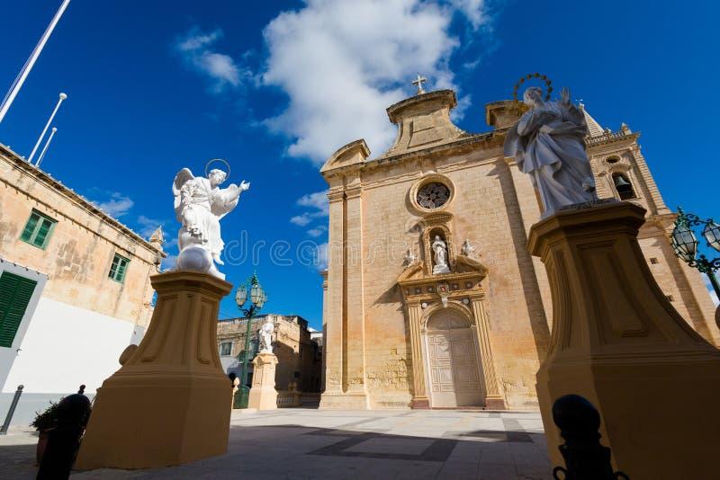 Церковь Balzan Мальта Parich стоковое изображение