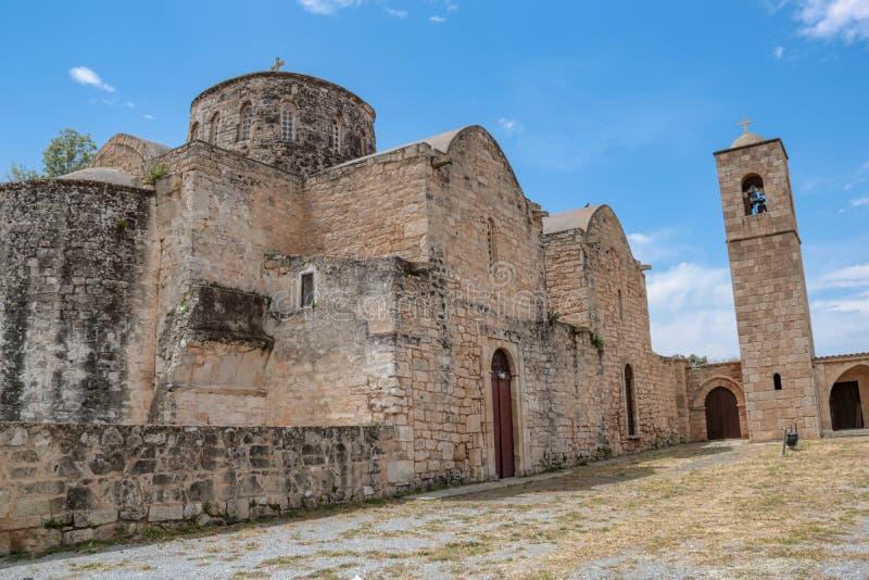 Церковь Barnabas Святого и музей и монастырь значка в турецком Кипре стоковое изображение rf