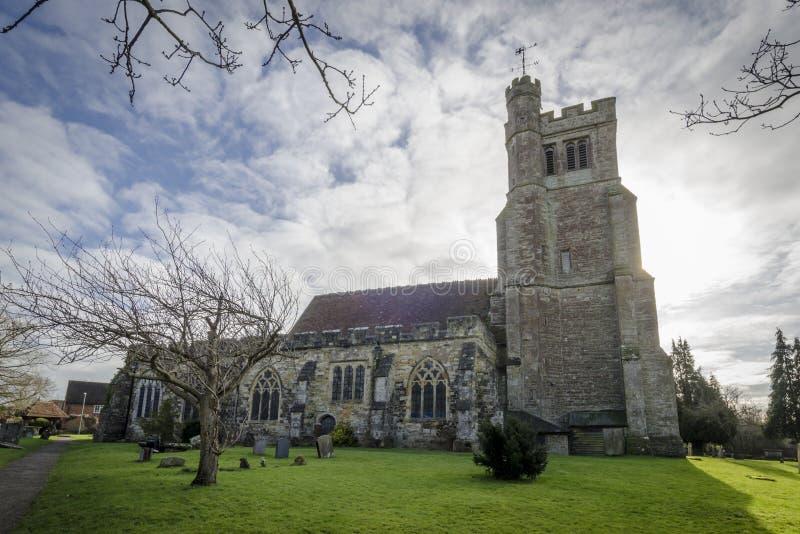 Церковь Biddenden стоковая фотография