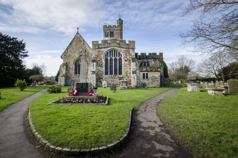 Церковь Biddenden стоковое изображение rf