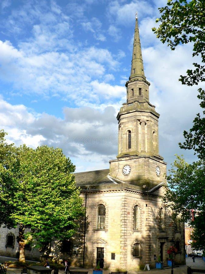 церковь birmingham старая стоковые фотографии rf