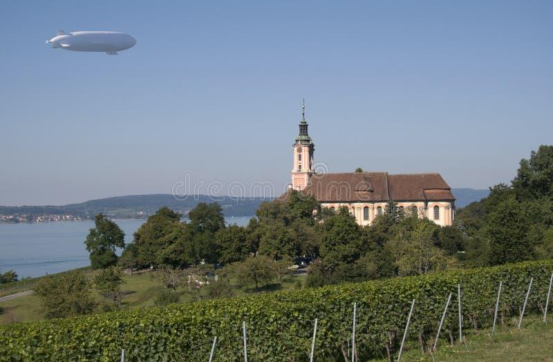 Церковь Birnau стоковая фотография rf
