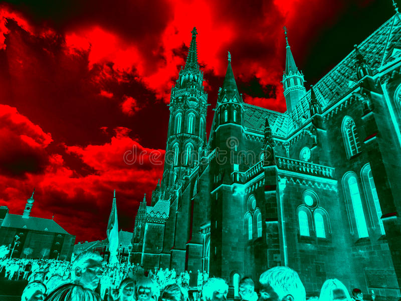 церковь budapest стоковые фото