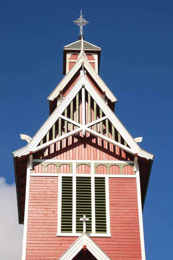 церковь busknes belltower стоковые изображения rf