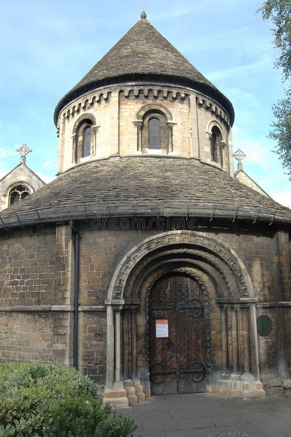 церковь cambridge круглая стоковые изображения rf