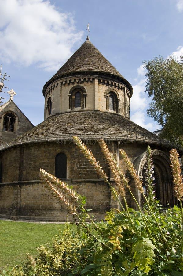 церковь cambridge круглая стоковое фото rf