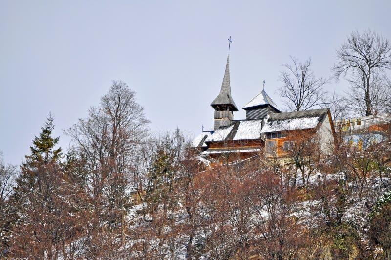 церковь cetateni стоковое изображение rf
