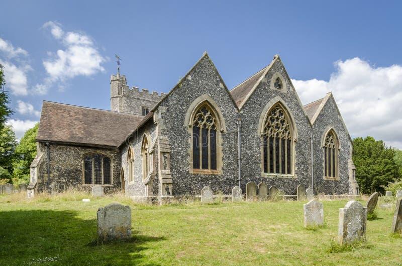Церковь Chilham, Кент, Великобритания стоковое фото rf
