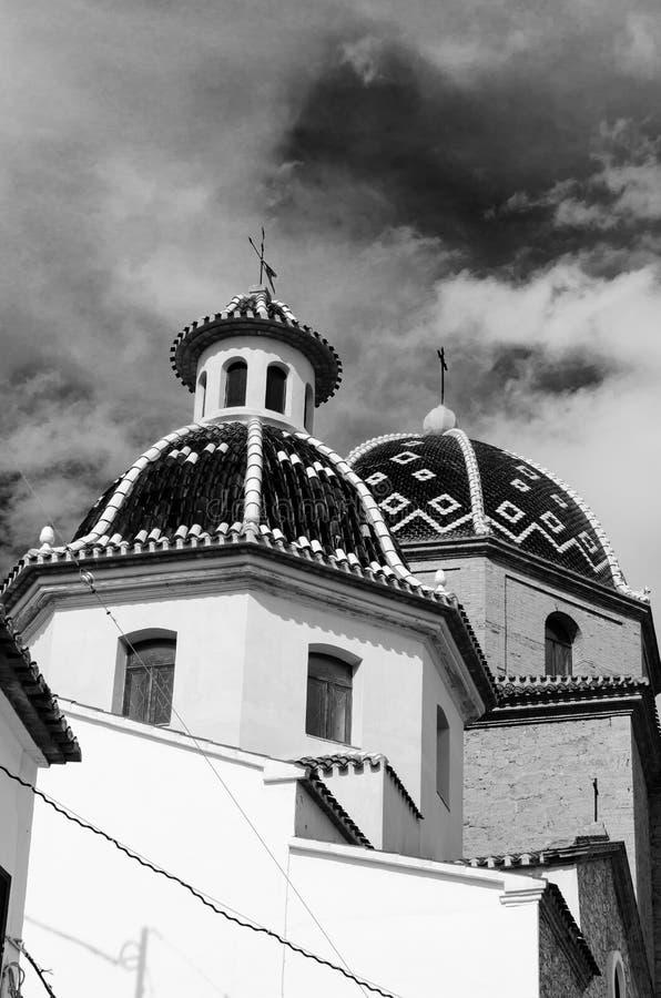 Церковь Consol del Nuestra Señora del Consuelo или Ла Конематки de Déu (наша дама утешения) стоковое изображение