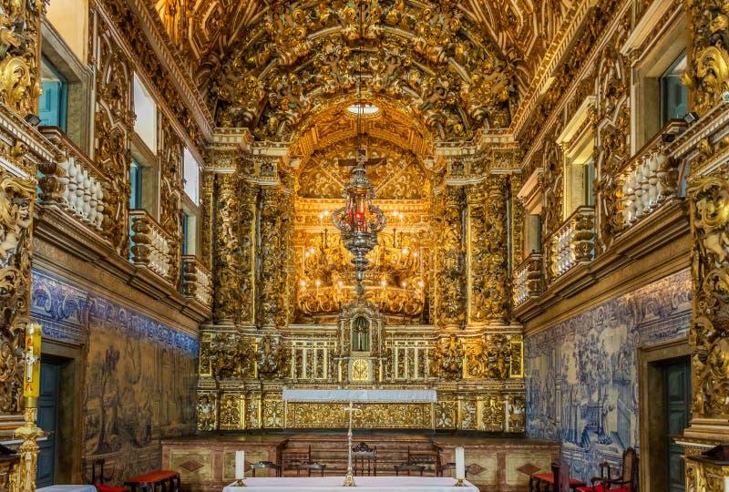 Церковь Convento de Sao Francisco стоковые изображения rf