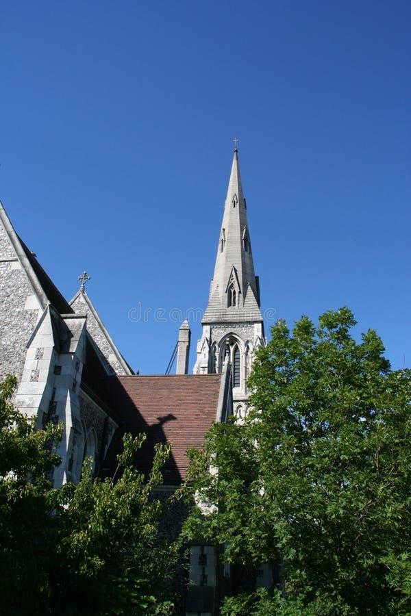 церковь copenhagen стоковые фото