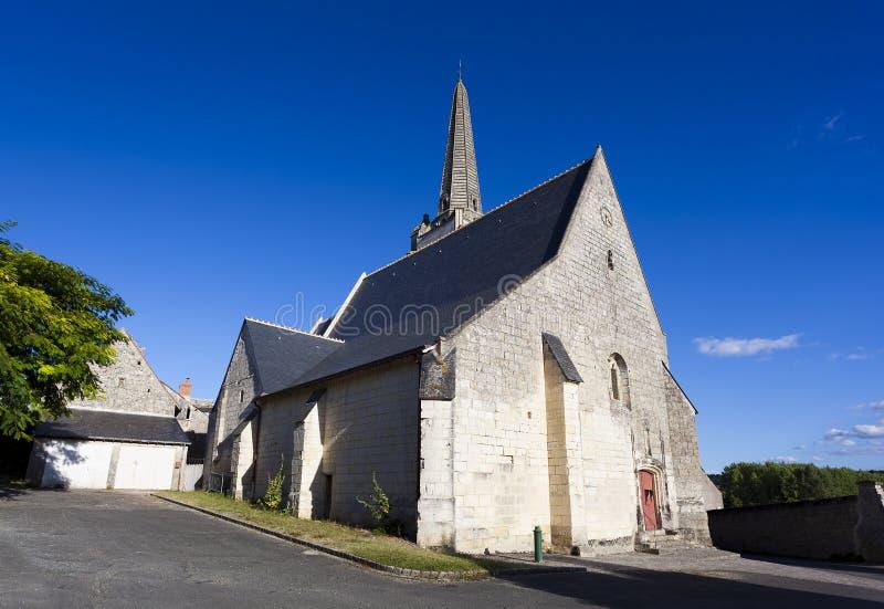 Церковь Crissay-sur-Manse стоковые изображения