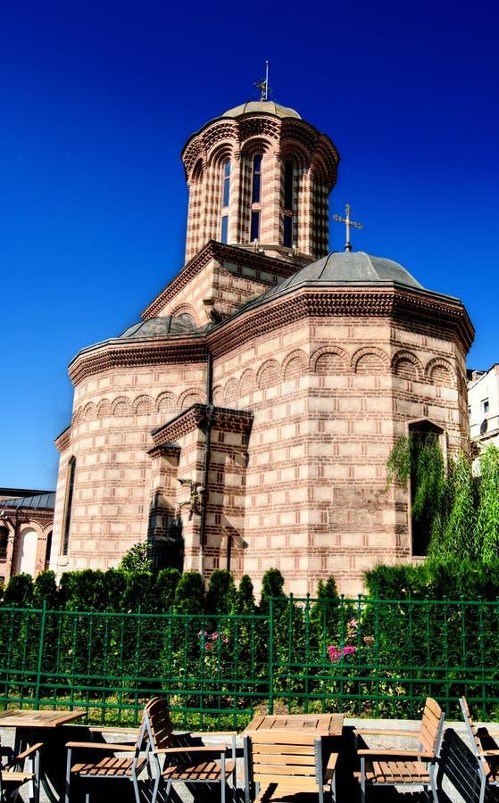 Церковь Curtea Veche в Бухаресте стоковое фото rf