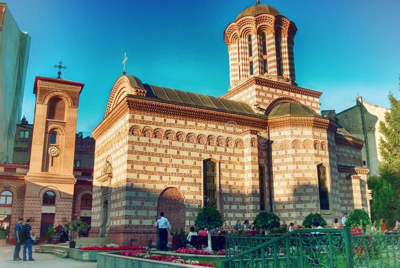 Церковь Curtea Veche в Бухаресте стоковые фотографии rf
