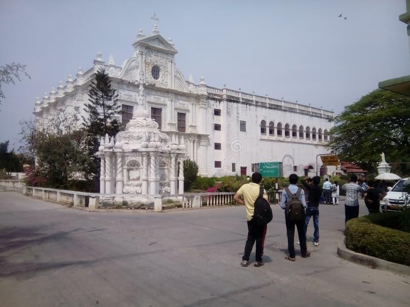 Церковь Diu стоковая фотография