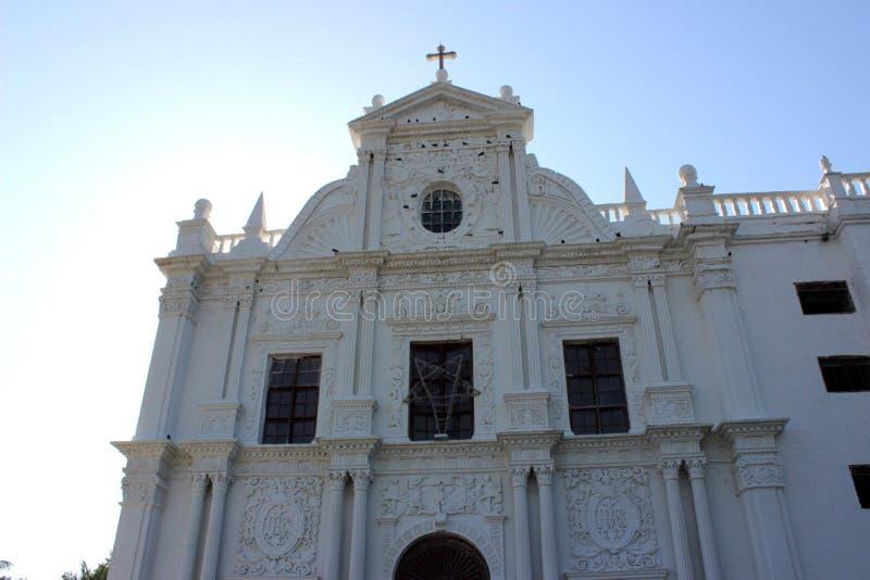 Церковь Diu стоковые фотографии rf