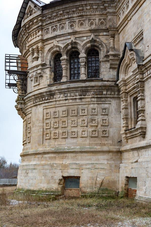 Церковь Dmitry Solunsky, obsla Lipetsk, деревни Berezovka стоковые изображения