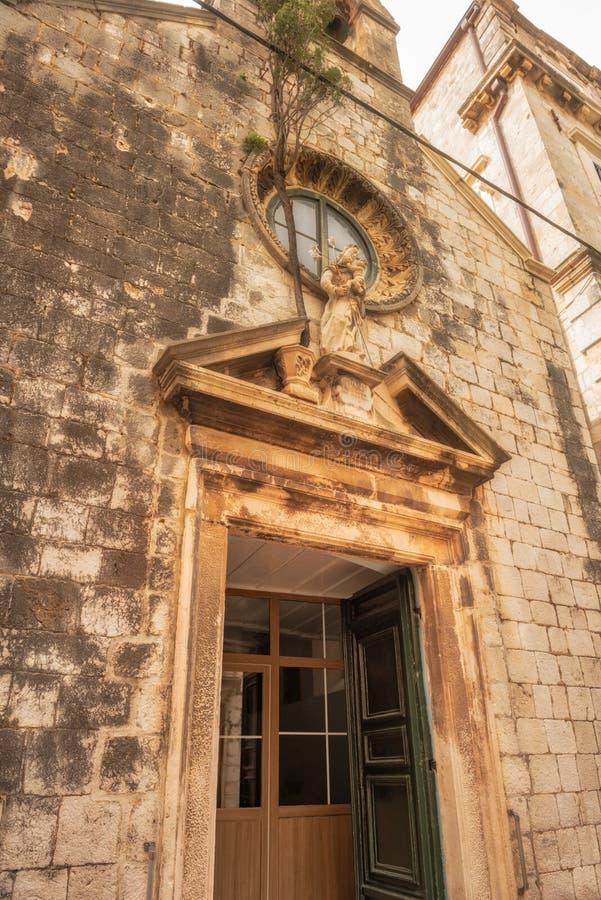 церковь dubrovnik стоковое фото