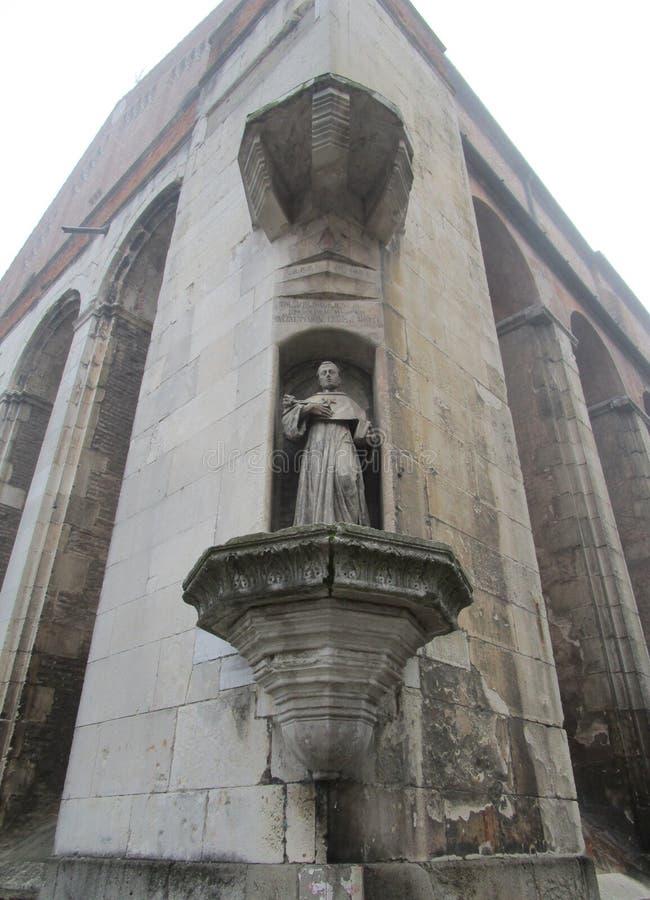 Церковь Eremitani стоковая фотография