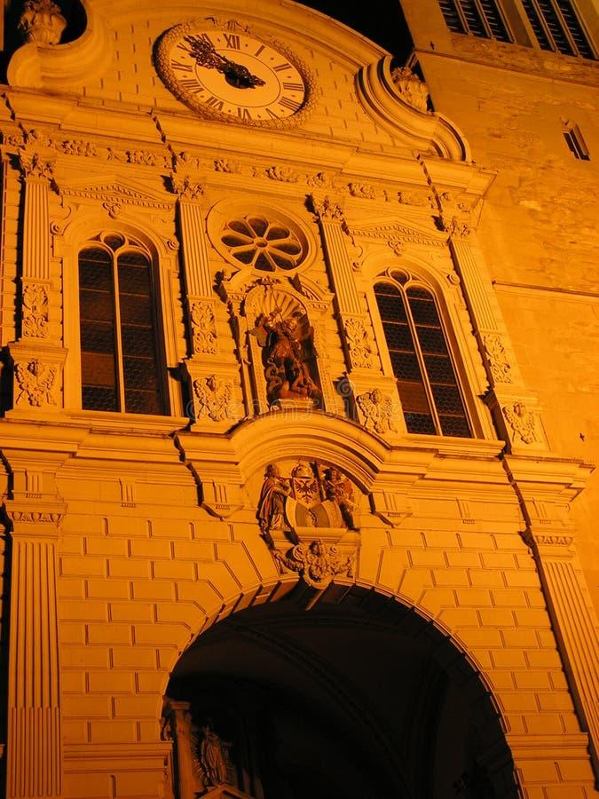церковь Fa Ade Стоковые Изображения RF