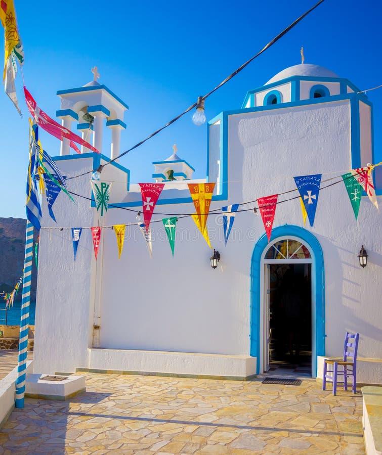 Церковь Firopotamos стоковое изображение rf