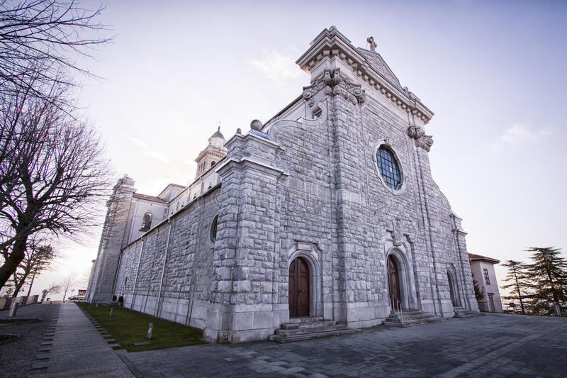 Церковь gora Sveta стоковая фотография