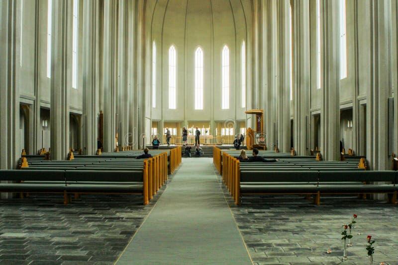 Церковь HallgrÃmskirkja стоковое фото rf