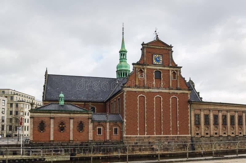 Церковь Holmen, Copenhhagen стоковая фотография
