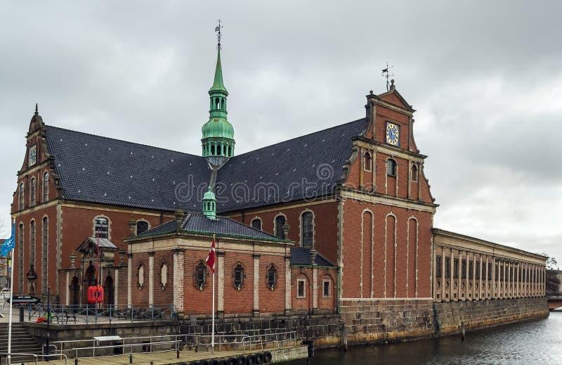 Церковь Holmen, Copenhhagen стоковое изображение rf