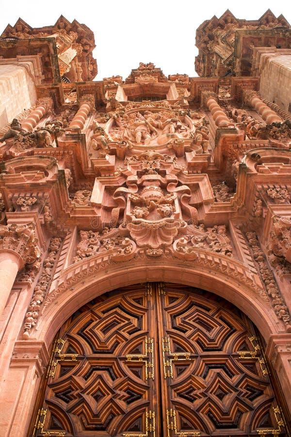 Церковь III Taxco Санты Prisca стоковые фото
