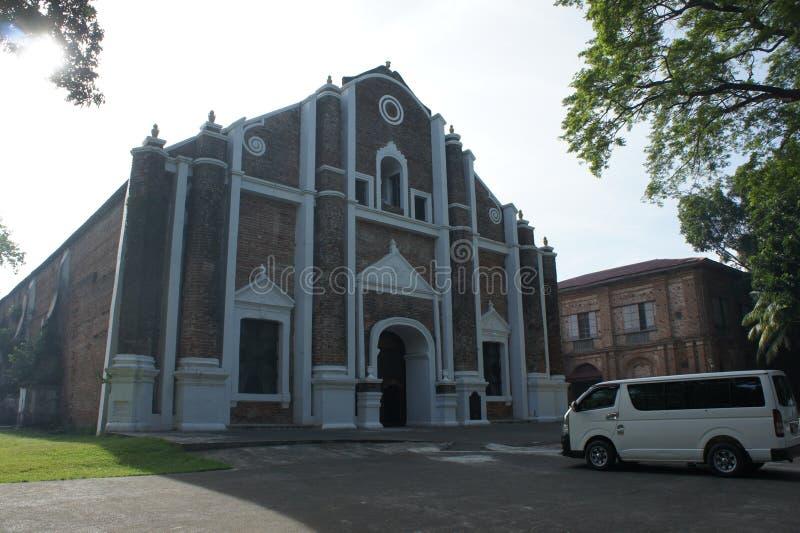 Церковь Ilocos стоковое изображение rf