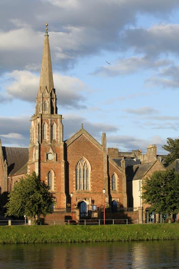 церковь inverness стоковая фотография