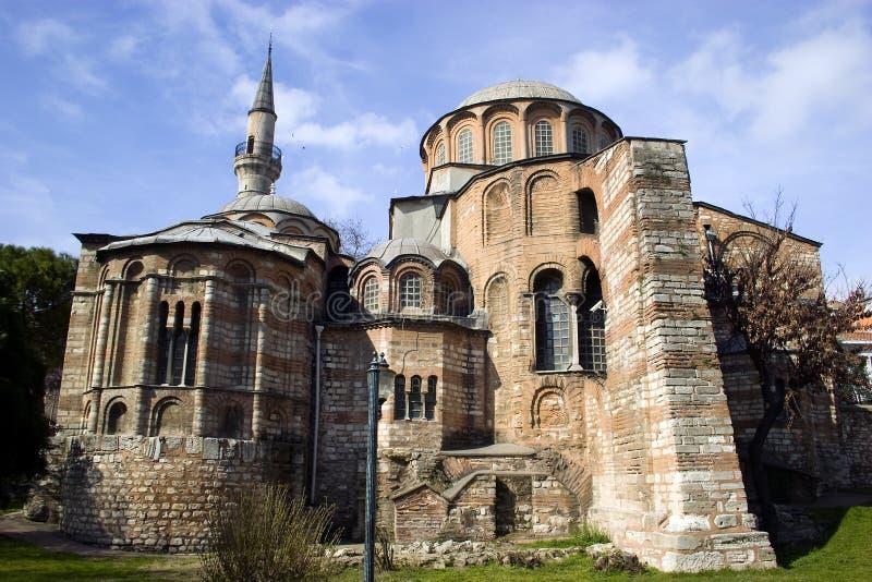 церковь istanbul chora стоковая фотография rf