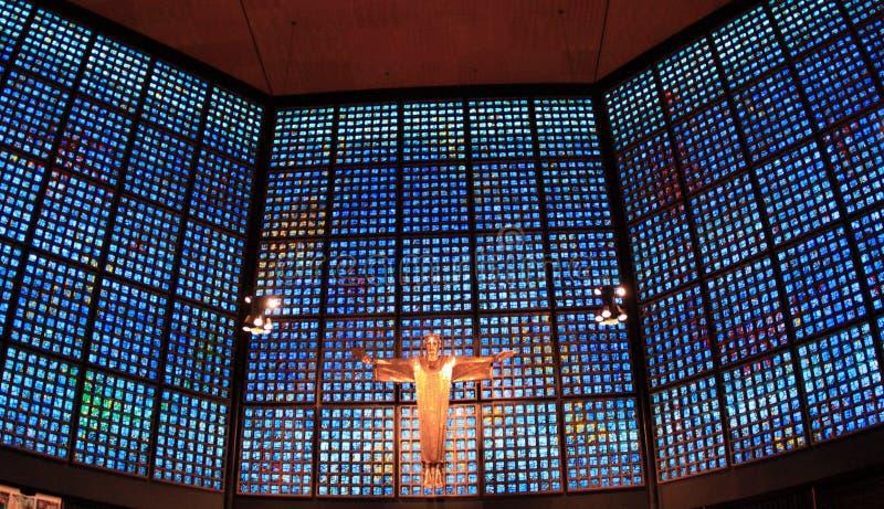 Церковь Kaiser Wilhelm мемориальная Берлина стоковое фото