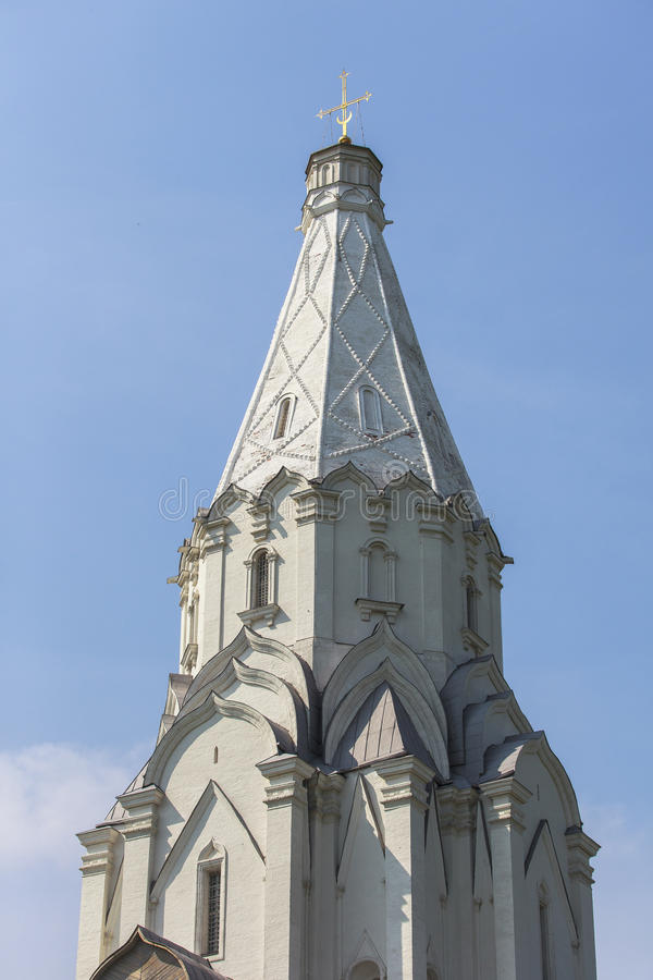 Церковь Kolomenskoe в Москве стоковые изображения rf