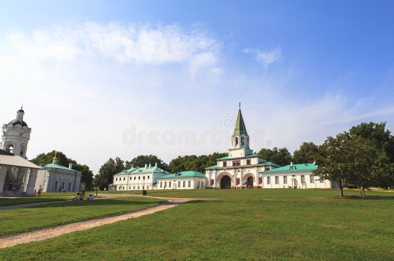 Церковь Kolomenskoe в Москве стоковое фото rf