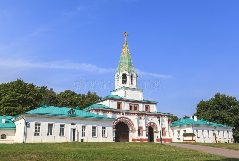 Церковь Kolomenskoe в Москве стоковое изображение
