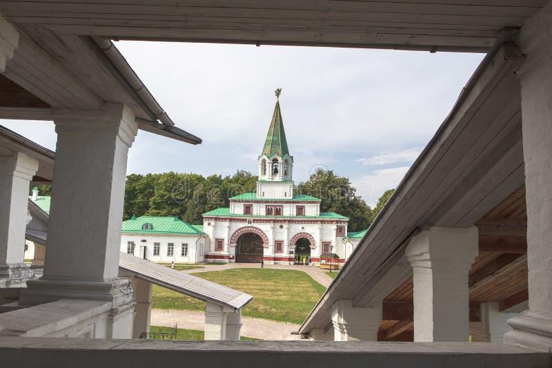 Церковь Kolomenskoe в Москве стоковые фотографии rf