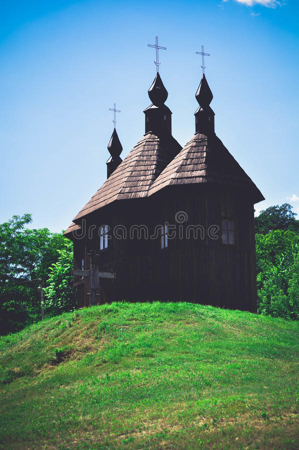 Церковь Kozak стоковая фотография
